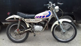 Yamaha Ty50m 1978 1g3 German import plus extras (matching numbers)