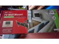 TV Wall Mount Tilt and Swing 37'' to 80""