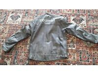 Leatherr biker casual jacket