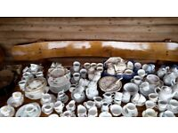 Crockery - ideal for afternoon tea, approx 50 settings