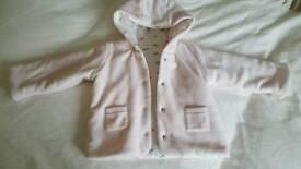 M&S 0-3m Coat