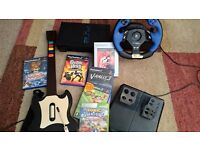PS2 Console, controllers, games and accessories
