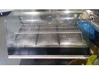 Large Hot Food Display Cabinet with Humidity Tray & Fan £300