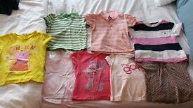 3-4 years Girls T shirts