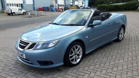 SAAB 9-3 1.9 TID VECTOR DIESEL CONVERTIBLE.2009.TIMING BELT ETC REPLACED.