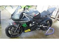 2003 Yamaha r6 race/track bike
