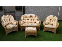 4 piece cane furniture offer