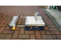 Tile cutter.mcallister electric...bargain
