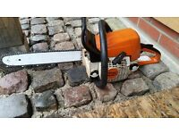 Stihl ms250 chainsaw