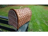 Cat travel basket