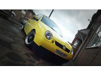 Volksagen Lupo Modified, Low mileage, Very cheap to insure