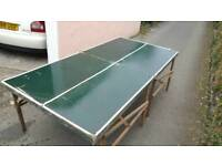 Vintage Ping Pong Table