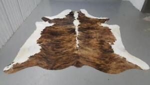 Cowhide Rug Brazilian Real, Natural, Unique, Authentic, Soft Cow Hide Rugs Large Cow Skin Rugs Free Shipping/Delivery