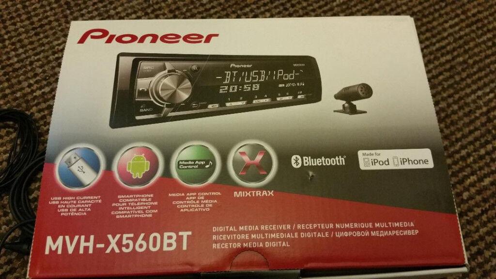 Pioneer Car Stereo Mvh