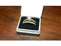 2 X OLD WELSH GOLD RINGS 22k Engagement & Eternity