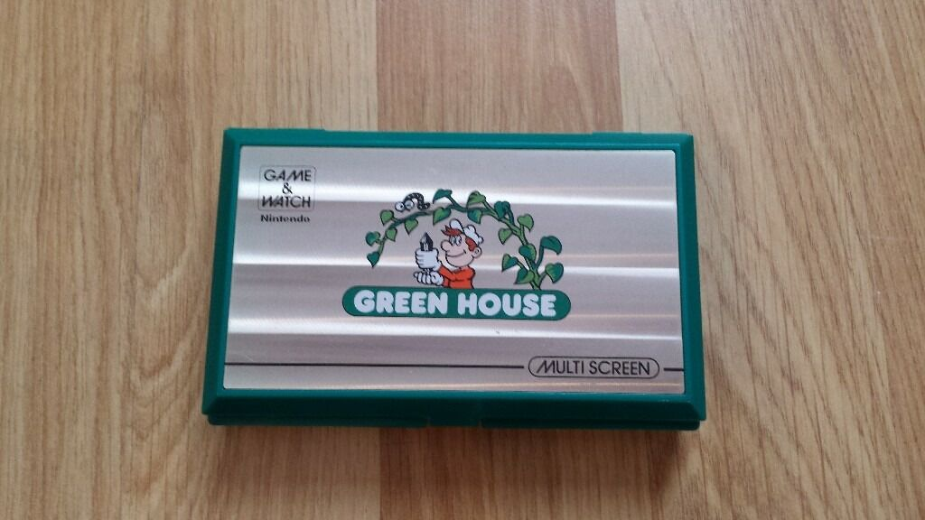 Green House Game and & Watch