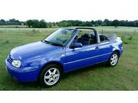 Vw Golf KARMANN Cabriolet Retro low mileage classic GREAT INVESTMENT !