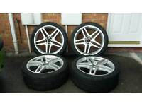 "21"" Mercedes Benz allow wheels for GLE & ML"