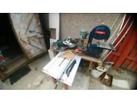 DIY Tools, table saw, pillar drill and more