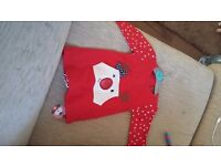 Baby girl Christmas clothes