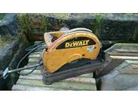 DeWalt DW871L-xw Metal Cut off chop saw with blade 110V Multi Cutter