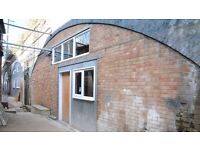 HACKNEY DOWNS STUDIOS / Arch 4: Arch for Creative Workshop, print studio, office / East London