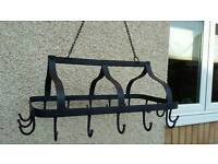 Cast Iron Traditional Pan Rack