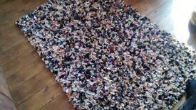 handmade rag rug any size colour or design