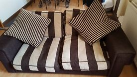 Dfs 2 seater sofa x2