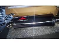 blackwidow exhaust