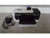 HP Officejet 6000 Printer + 2 Unopened Black Ink Cartridges