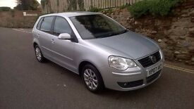 EXCELLENT VW POLO 1.4 5 DRS. 27000 MILES ONLY, NEW MOT, FSH