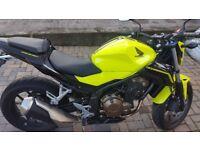 2016 Honda CB500F Yellow
