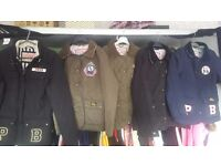 All real Pauls boutique coats/jackets