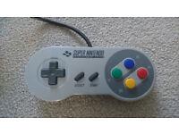 # Original SNES Super Nintendo OFFICIAL CONTROLLER - Mint Condition SNSP-005 #