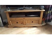 Tv stand and side tables