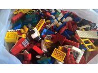 7kg assorted lego bricks