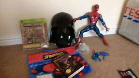 Toy Bundle - Spiderman etc