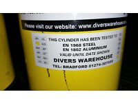 Duppie diving cylinders for sale (2)
