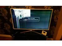 Samsung smart led tv cracked screen