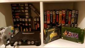 WANTED Boxed Nintendo 64 and GameCube games for my collection