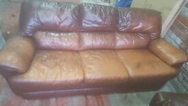 3+1 sofa + recliner chair very good condition can deliver
