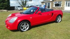 TOYOTA MR2 ROADSTER 1.8 VVTI choice of 2