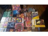 Books ds games pc games wii games and ps2 games and cds