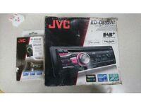Jvc dab radio with Bluetooth adapter