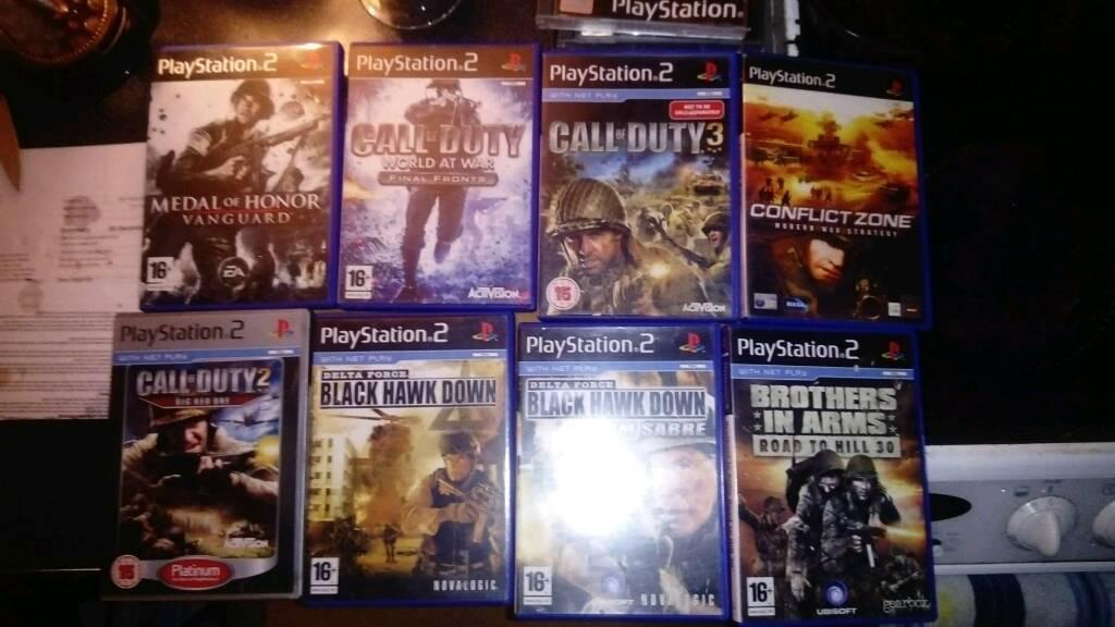 (PS2) - Old School War Games!!