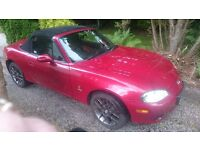 Mazda MX5 2004 Red Convetible