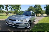 HONDA CIVIC AUTOMATIC, 1 YEAR MOT, VERY LOW GENUINE MILEAGE, VERY GOOD DRIVE,4 GOOD TYRE,IN AND OUT