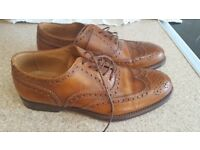 Mens .size 6. Handmade. Campanile. Italian leather. Brown brogues. Hardly any wear. Made in rome.