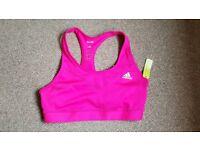 Adidas sports bra with tags